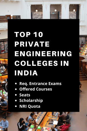 top 10 private engineering college in india