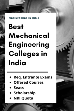 Best Mechanical Engineering Colleges in India